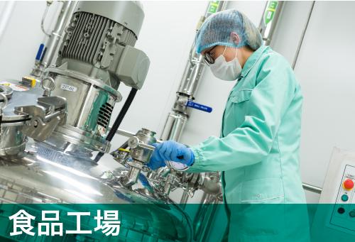 どこも抗菌|ナノゾーン|食品工業
